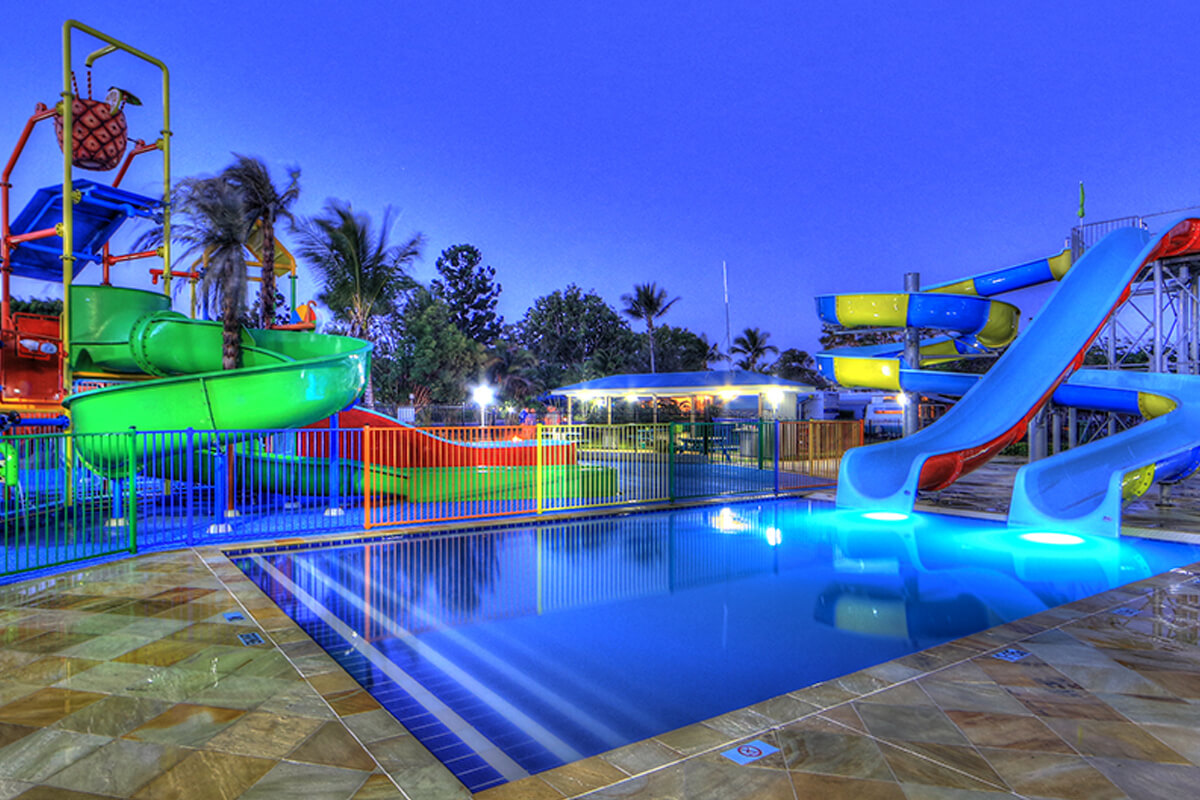 beach holiday caravan park capricorn coast